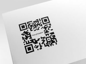 QR Code on Packaging