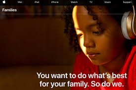 Apples family page